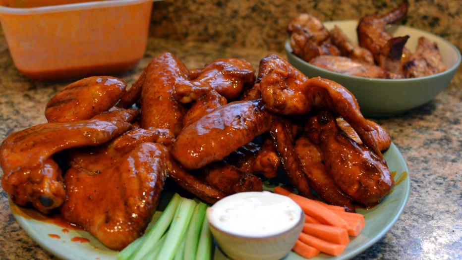 Рецепт крыльев для горячего копчения